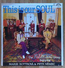 THE FLAMINGO GROUP feat. MARIE ROTTROVA & PETR NEMEC This Is Our Soul LP/CZECH