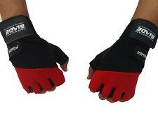 gym Gloves Gym Fitness Bodybuilding Training Wrist Strap MAX LEATHER