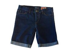 Tractor Girls Stretch Bermuda Denim Shorts Adjustable Inner Waist,6,7,8,10,12