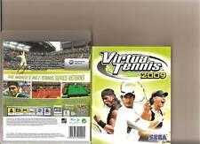 Virtua Tennis 2009 Playstation 3 PS3 Nadal Federer