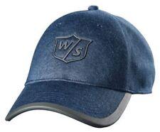 Wilson Women Staff One Touch Cap Tour Golf Hat Denim Adjustable 4 Colors WGH594
