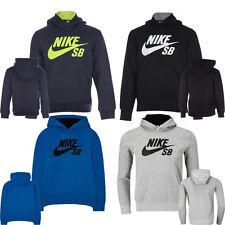 New Nike Boys Junior Kids SB Hoodie Hooded Sweatshirt Fleece Top Tracksuit