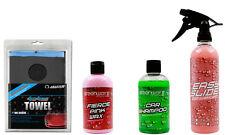 Clay bar kit car wax polish auto wash detailing lubricant kit light or medium