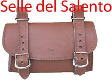 BORSA 4PELLE BORSELLO BICI BICICLETTA SOTTOSELLA VINTAGE Leather Tools Bags Bike