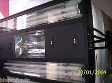 PLAFONIERA HQI 1X150 4 NEON T5 BLU ATTINICO 39W 91CM DUAL BLUMOON 4