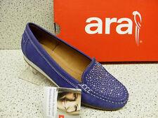 "Ara®  SALE , bisher  79,95 €,  ""Mokassin"", blau,  + gratis Premium-Socken (A9)"