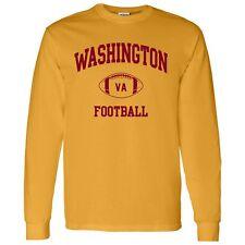 Washington Classic Football Arch Unisex Long Sleeve T-Shirt