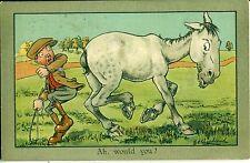 POSTCARD COMIC  Ah would you ?     G E Shepherd