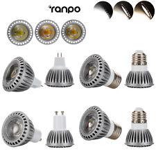 MR16 E27 GU10 15W Dimmable LED Spotlight COB Lights Bulb CREE Lamp Ultra Bright