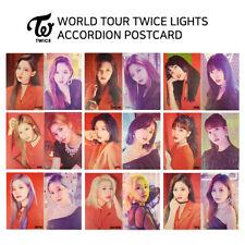 TWICE - WORLD TOUR 2019 TWICE LIGHTS - POST CARD - MEMBER SET