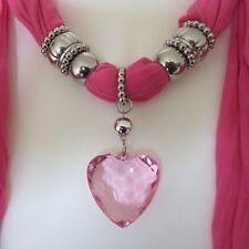 Bijoux Crinkle Argent Perles ou Pierres écharpe avec Franges 180 cm de long NOUVEAU