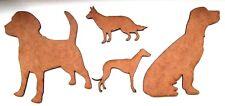 MDF 4'' & 6'' Dog laser cut out shapes, craft making, decoration, embellishment
