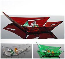 Slato Ciotola centrotavola decorativo design moderno in plexiglass Lilia piccolo