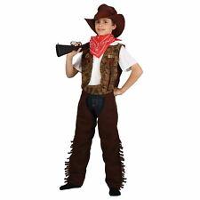Boys Wild West Cowboy Sheriff Gunslinger Halloween Party Fun Fancy Dress  Costume 3b1c61f7d4f
