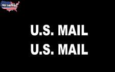 US MAIL Postal Service Vinyl 2X Decal Car Window Bumper Sticker Carrier post