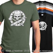 Logger Crossbones T Shirt - loggers skull n bones shirt lumberjack logging shirt