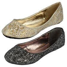 filles paillette Chaussures à enfiler H2239 par Mignonne Prix de vente au détail