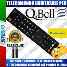 TELECOMANDO UNIVERSALE QBELL § CLICCA SUL TUO MODELLO E LO RICEVERAI GIA PRONTO