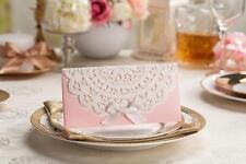 merletto rosa INVITO DI NOZZE buste invito di nozze Busta SIGILLI