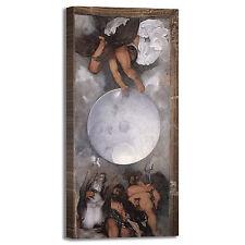 Caravaggio Giove Nettuno Plutone quadro stampa tela dipinto telaio arredo casa