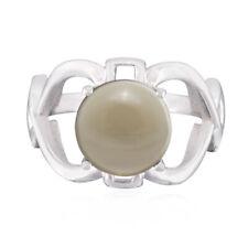 echte Edelsteine Cabochon Rauchquarz 925 Silber Ringe GeschenkfürKinderTag DE