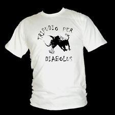 Dance with the DEVIL - Latin DIABOLUS DEVIL Monster Bull mens fun T-shirt