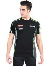 2016 Official Kawasaki Motocard Team Race Wear Black/Green T shirt - 16 31501