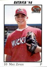 1998 Batavia Muckdogs Team Issue #35 Mike Zipser Las Vegas Nevada Baseball Card