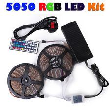 3528 5050 5M/10M RGB SMD 300 Led Waterproof Tape Roll Strip Light 12V Waterproof