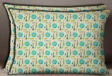 S4Sassy Rectangle Cottonbeige Usa Thème Architectural Pillow Sham