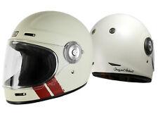 Origine Vega Stripe White Retro Integral Helm