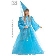 Girls MAGIC FAIRY BLUE Costume Make-believe Pan Tinkerbell Fancy Dress