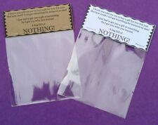 Bag of Nothing Novelty Gift Secret Santa Stocking Filler Joke Present Gag Xmas