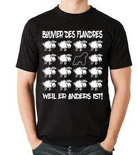 T-Shirt BLACK SHEEP - BOUVIER DES FLANDRES Hund Hunde Fun Men Siviwonder