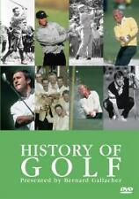 HISTORY OF GOLF-DVD-BERNARD GALLACHER-BRAND NEW SEALED