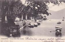 * CADENABBIA - Entrata della Villa Carlotta 1903