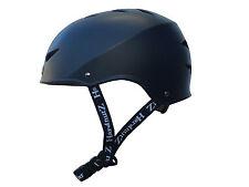 HardnutZ Street BMX Helmet Black Skateboard Scooter Sports Adults Kids Cycle
