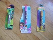 New ! 6 Color Ink Pen SpongeBob Dora and Friends Teenage Mutant Ninja Turtles