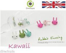 Kawaii JAPAN conejo de color caramelo Minimalista Lindo Aretes & Bolsa De Regalo