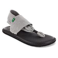Sanuk Yoga Sling 2 Womens Footwear Sandals - Grey All Sizes