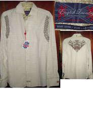 Mens English Laundry Tan/Brown L/S Shirt  NWT  Small