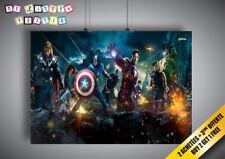 Poster Avengers Comic marvel art