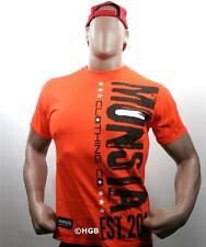 Monsta Clothing Graphic Tee Bodybuilding Wear Unda Construction Mens T Shirt New
