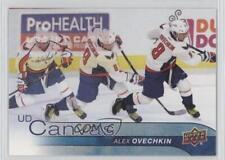 2016 Upper Deck UD Canvas #C85 Alexander Ovechkin Washington Capitals Alex Card