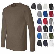 Bella + Canvas Long Sleeve Jersey Mens T Shirt 3501