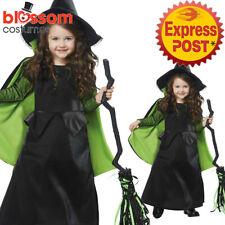 CK1070 Girls Wizard of Oz Wicked Witch Halloween Book Week Fancy Dress Costume