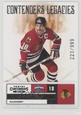 2011 Panini Playoff Contenders #152 Denis Savard Chicago Blackhawks Hockey Card