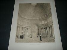 1843 GEORGE B.MOORE IL BATTISTERO DI SAN GIOVANNI A FIRENZE H.GALLY KNIGHT