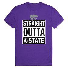 University of Kansas State Wildcats NCAA Straight Outta Graphic Tee T Shirt