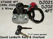 Yamaha Xt600e 4pt dj021 Encendido Interruptor blocchetto this zündschloß contacteur